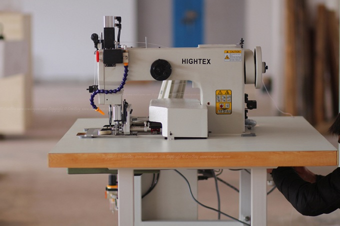 heavy duty automatic rope sewing machine