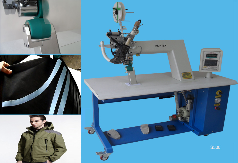 S300 hot air welding machine for waterproof jackets and coats