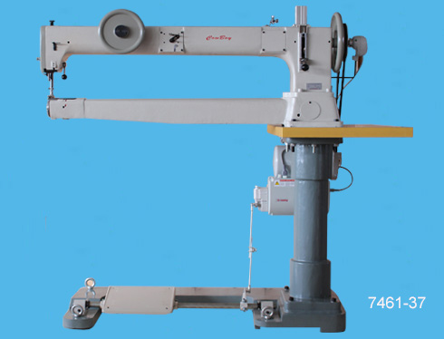 long arm, cylinder bed sewing machine