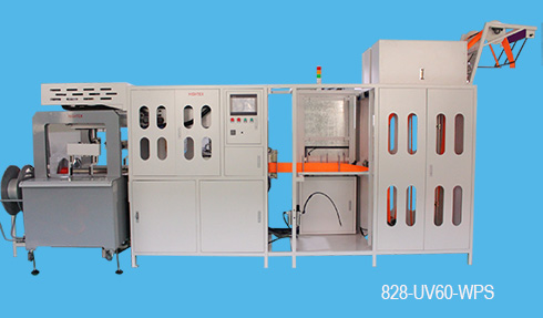 automatic length cutting and winding machine